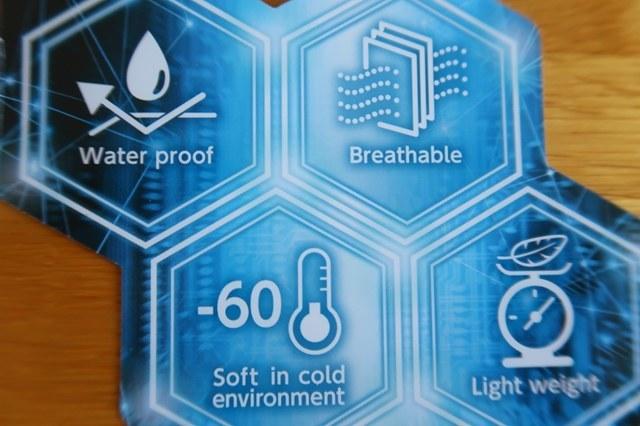 防寒テムレス性能はマイナス60度の中でも使用できる