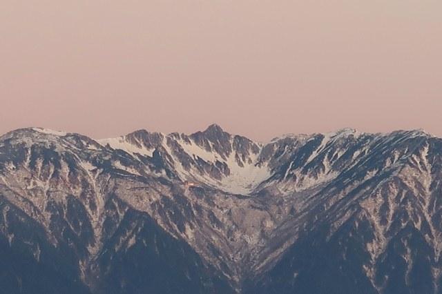 宝剣岳と千畳敷カール