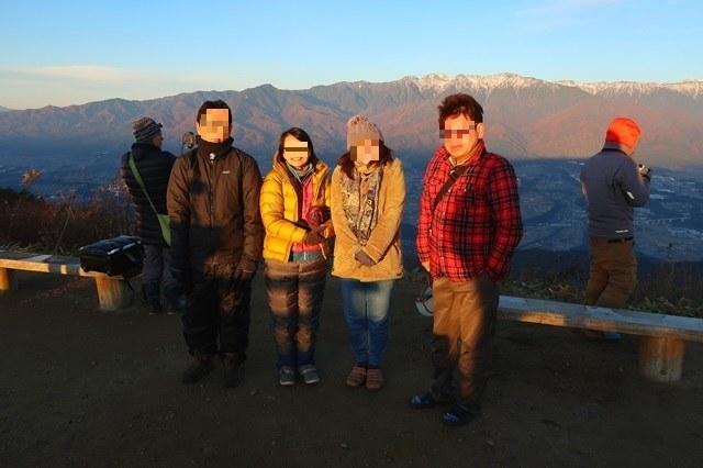陣馬形山山頂キャンプ参加者