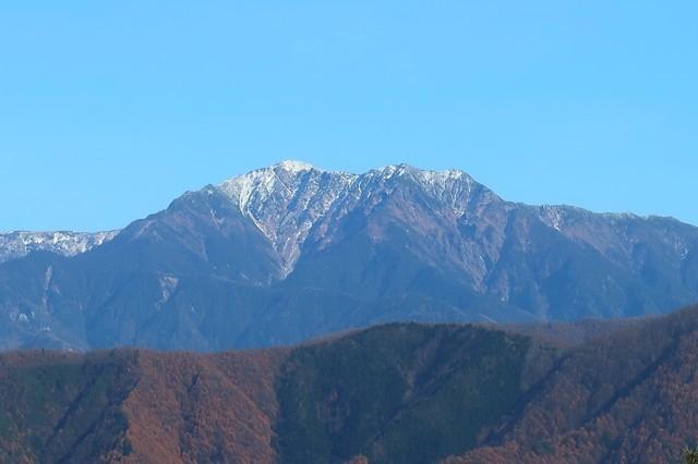 甲斐駒ヶ岳も素敵な風景