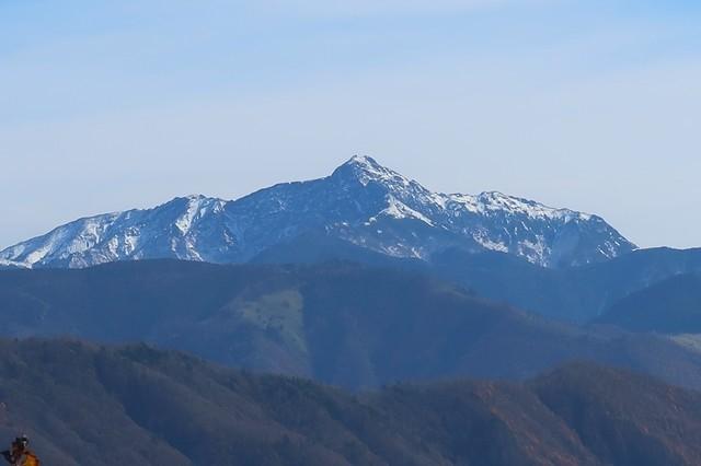 塩見岳もカッコ良い眺め