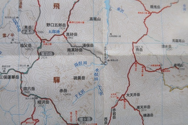 北アルプス(鷲羽岳・水晶岳・雲ノ平周辺)で使える携帯電話の通話エリア
