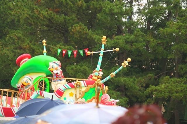 雨の日限定パレード
