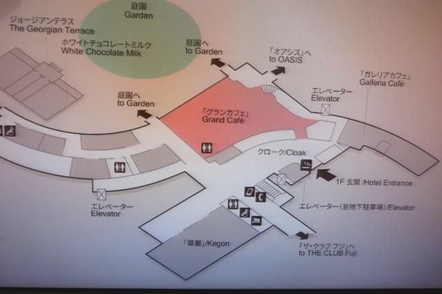 グランカッフェの店舗周辺の地図
