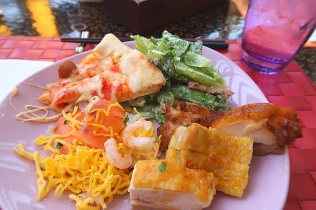 ランカフェ舞浜のランチブッフェ料理とメニュー