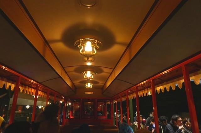 夜のリバー鉄道