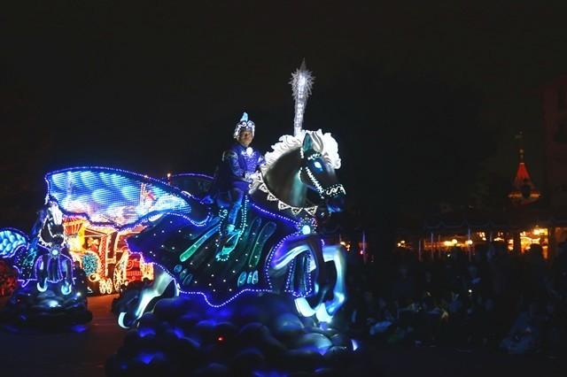 エレクトリカルパレード騎馬