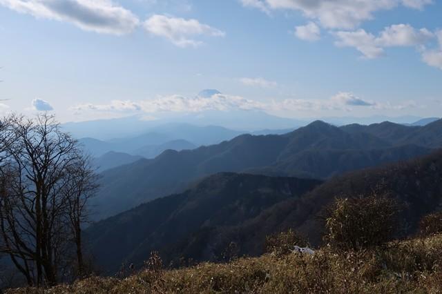丹沢山から塔ノ岳
