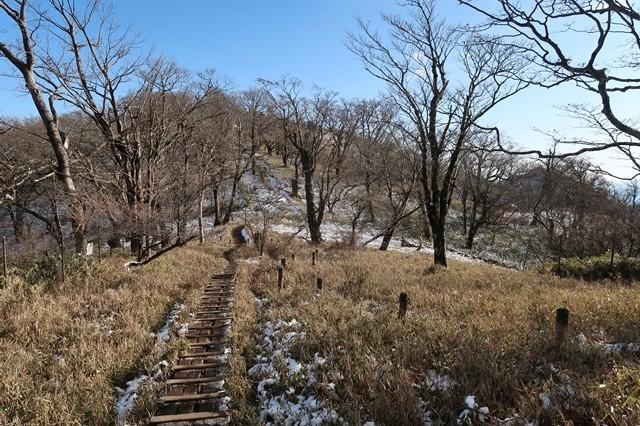 丹沢山から塔ノ岳のルート