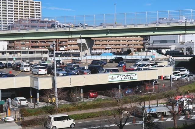 南町田グランベリーパーク駐車場