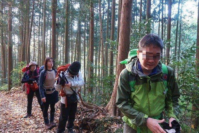 丹沢登山オフ会のスタート