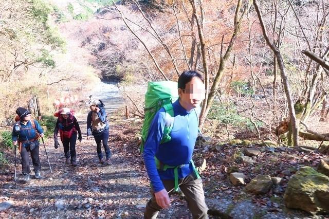 丹沢登山初めての登山者