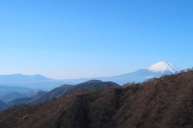 マルガヤ尾根から見る富士山