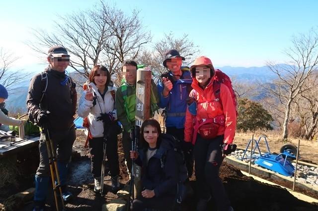 登山オフ会で丹沢