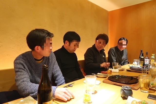 ブログ忘年会参加者の会話