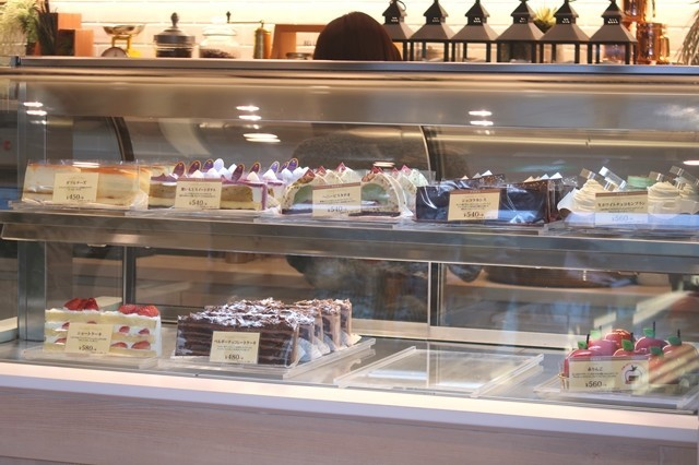 ジロー珈琲のケーキ