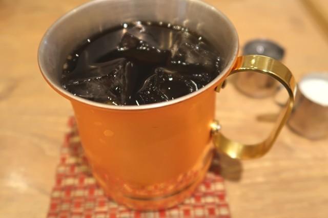 ジロー珈琲で注文したアイスコーヒー