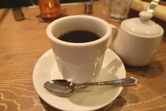 ジロー珈琲で注文したブレンドコーヒー