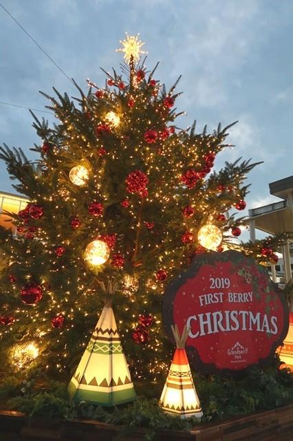 アウトレットパーク南町田クリスマスツリー点灯