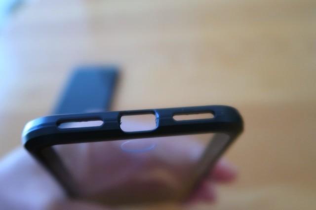マグネット吸着スマホケースにiphone8をセット
