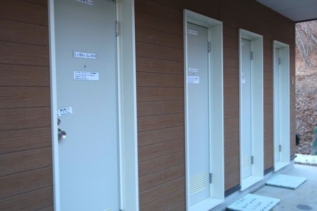 浩庵キャンプ場のシャワールーム