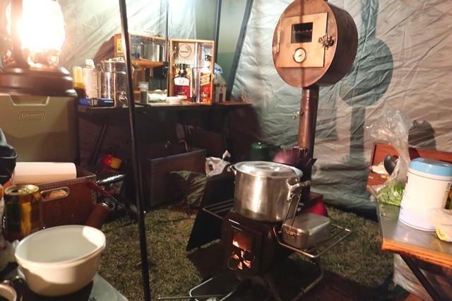 キャンプ料理鍋