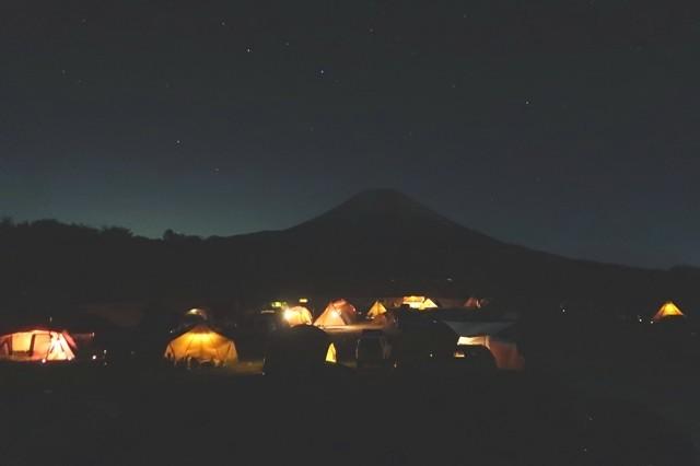 朝霧ジャンボリーオートキャンプ場の混雑具合