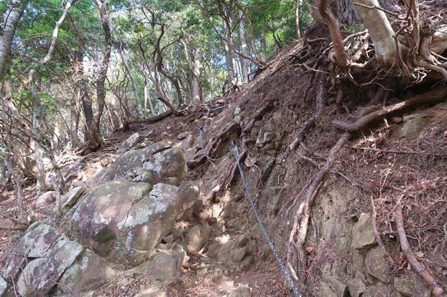 三峰山への登山ルート