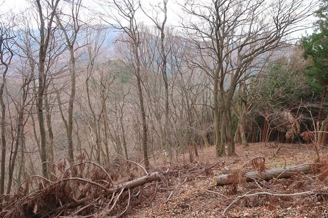 辺室山から土山峠