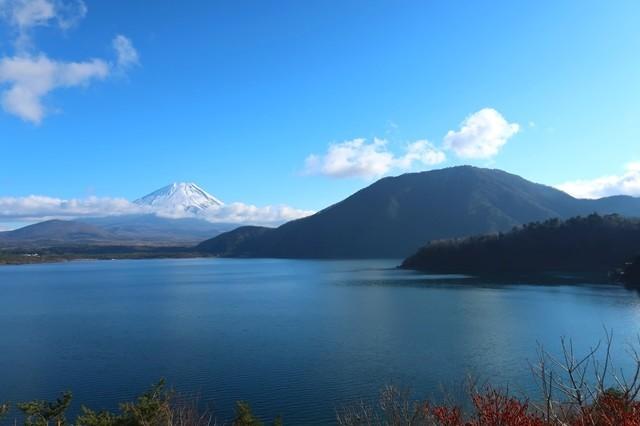 本栖湖紙幣の富士