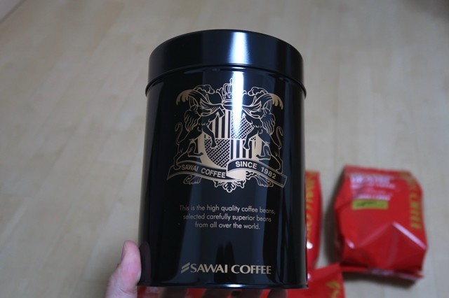 >SAWAI COFFEE保存缶