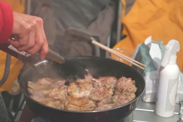 キャンプ焼肉