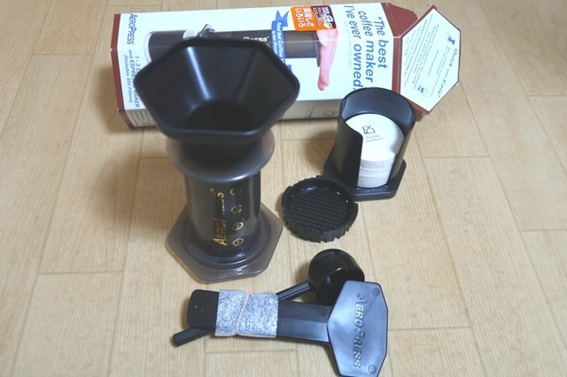エアロプレスコーヒーメーカー(AEROPRESS)道具一式