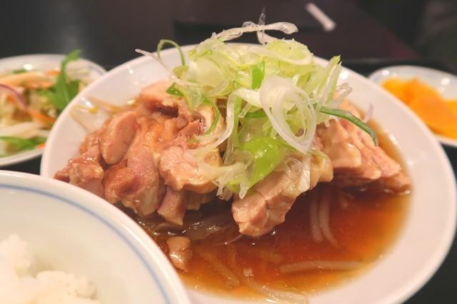 鶏肉の醤油煮