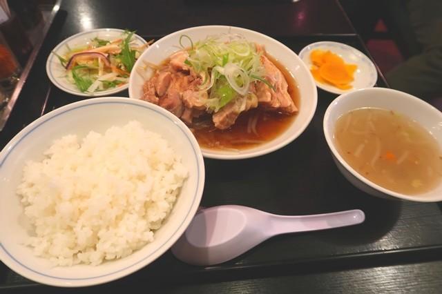 北品川の中華料理開ランチ料理内容