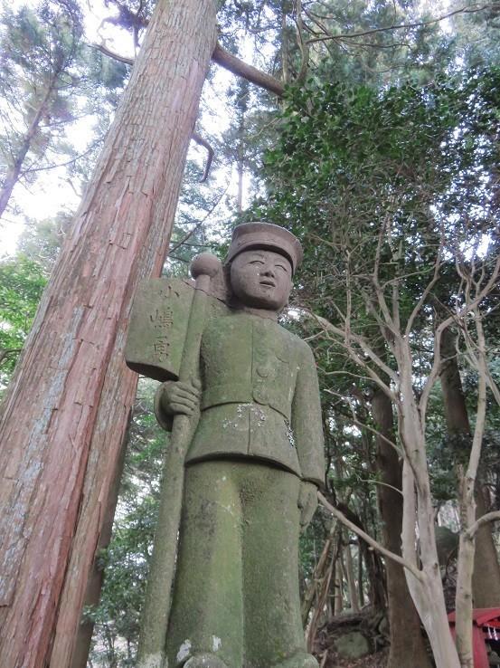 昭和5年に出征像になった小嶋