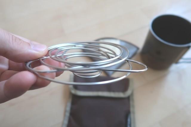 コーヒーバネットは非常に薄い作り