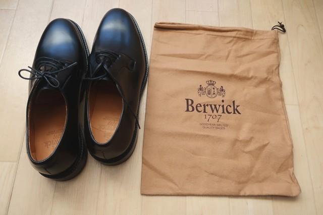 バーウィック(BERWICK)メンズ革靴
