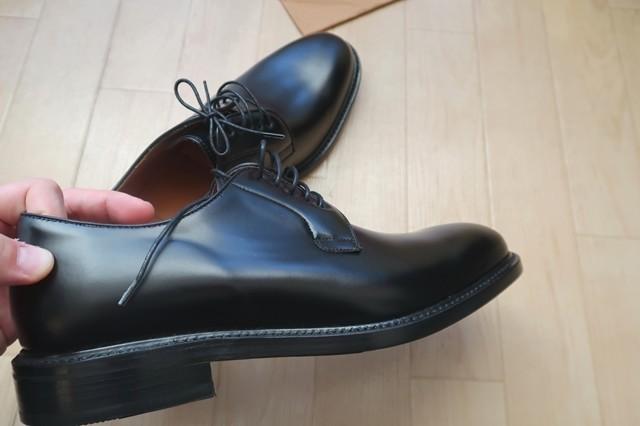ヒールがやたら高いバーウィック(BERWICK)の革靴