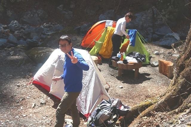 初めての奥多摩山塊での登山・テント泊