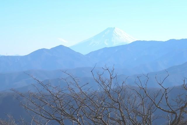 三条ダルミからの富士山景色