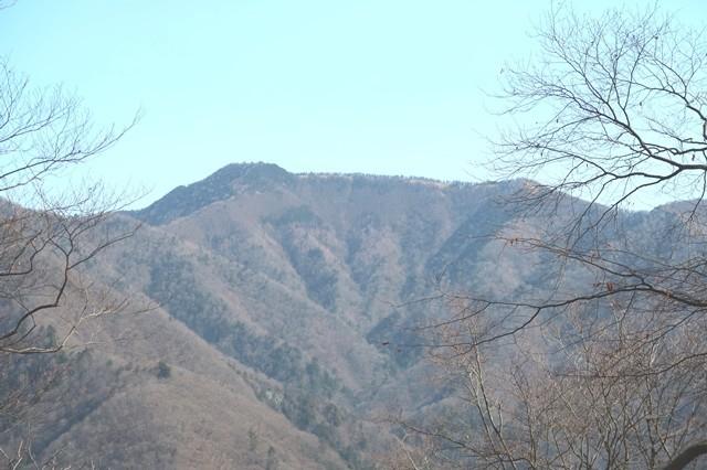 丹波天平から雲取山景色