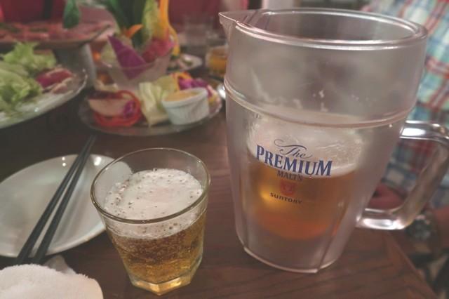 ダンチキンダン生ビール