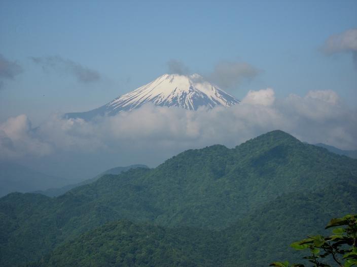 大笄富士山のビュースポット