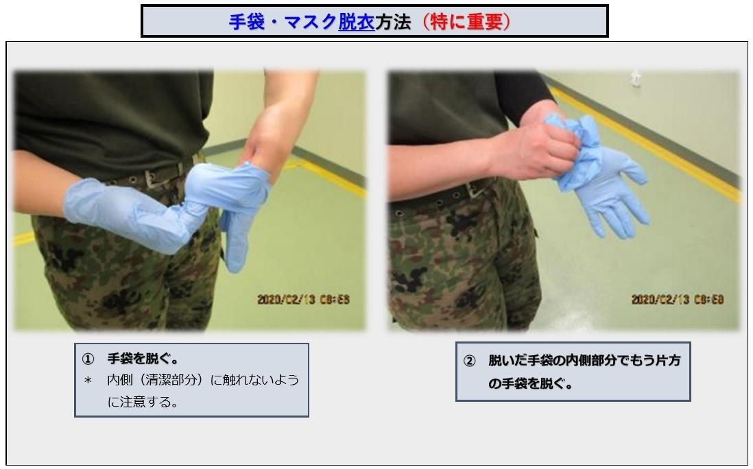 自衛隊の新型コロナウイル感染を防ぐ技