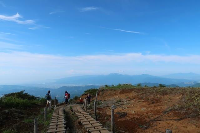 大倉から蛭ヶ岳ピストン登山者