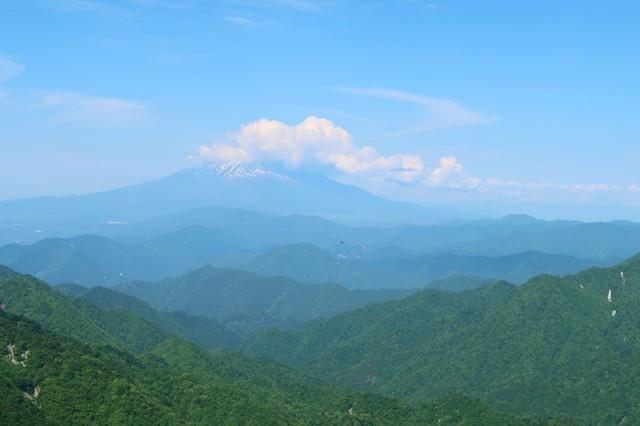 富士山の雲