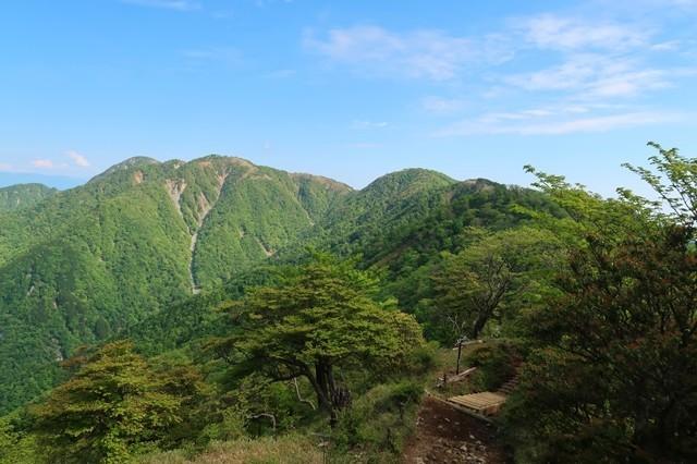 丹沢山塊最高峰である蛭ヶ岳