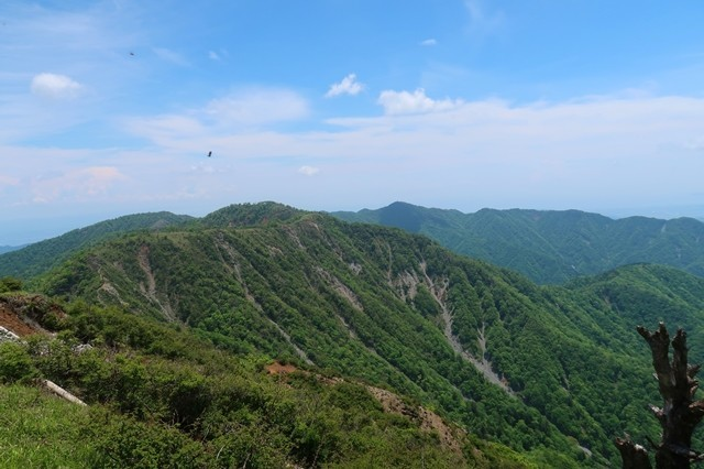 蛭ヶ岳の山頂360度の大展望