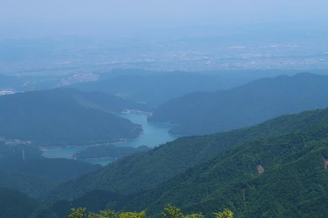 宮ヶ瀬湖アップの写真